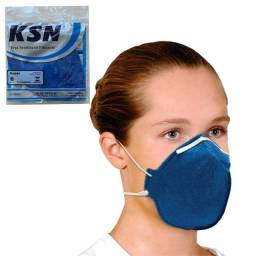 Máscara De Proteção Hospitalar Ksn N95 PFF2-S Anvisa Inmetro Azul