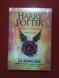 Livro Harry Potter e a Criança Amaldiçoada -Capa Dura