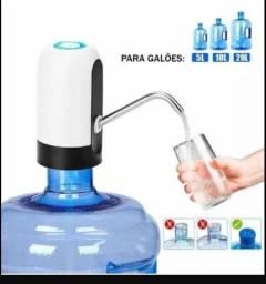 Sugador bomba de água recarregável para garrafão até 20Lts