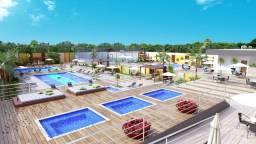 Apartamento 01 e 02 quartos - parcelado direto pela construtora entrega em 2021