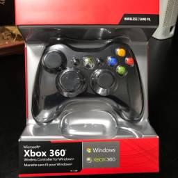 Controle Original Novo Xbox360