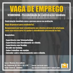 Vaga de emprego - Vendor(a)