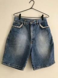 Título do anúncio: Short Cintura Alta Tamanho P da C&A