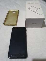 Smartphone Asus Zenfone 4 Selfie preto (bem conservado, sem trincado!)