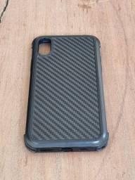 Capa Fibra de Carbono iPhone XS