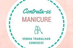 Vaga para manicure, designer de unha e alongamentos
