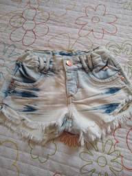 Vendo shorts jeans número 6