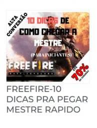 Freefire 10 digas para você pegar mestre