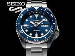 Relógio Seiko 5 Sports Automático Azul Srpd51k1 Srpd51 43mm