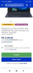 Vendo notebook Asus