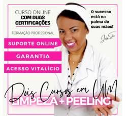 Curso de limpeza facial para conhecimento, certificado garantido