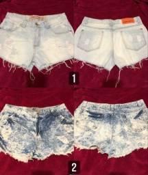 Shorts Jeans Variados