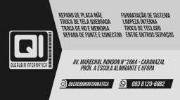 Querubim Informática - Promoção telas de notebook