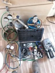 Kit de ferramentas para refrigeração completo
