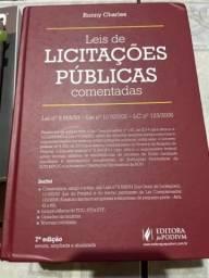 Título do anúncio: Leis de licitações públicas comentada