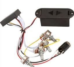 Circuito Ativo Baixo 4 Potenciômetros - Aceito Cartão