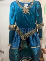 Vestido Princesa Merida (Valente) Original Disney