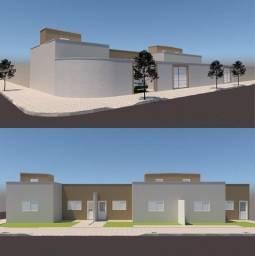 Casa para Venda em Uberlândia, São Jorge, 2 dormitórios, 1 suíte, 2 banheiros, 1 vaga