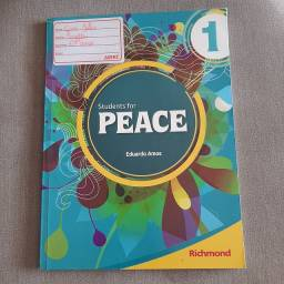 Livro Students for Peace 1 com CD