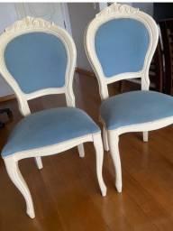 Título do anúncio:  02 cadeiras em pátina