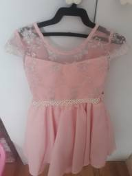 Vestido de festa infantil princesa