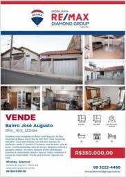 Vendo excelente casa no bairro José Augusto no valor de 350 mil