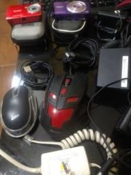 Câmeras/Teclados/Mouse/Caixas PC/ETC...