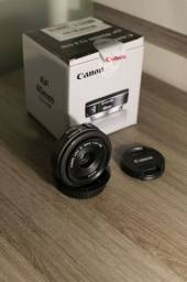 Lente Canon 40mm 2.8 Novíssima