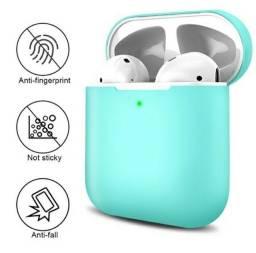 Case protetora de silicone para airpods ou similares