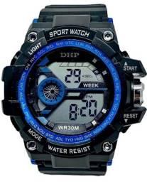 Relógio masculino digital a prova dágua militar