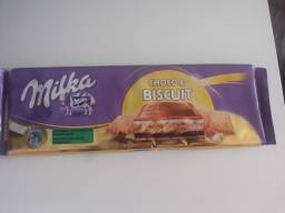 Milka Chocolate 300g Recheio De Biscoito - Choco & Biscuit