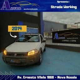 Strada Hard Working 1.4! Único Dono C. Estendida Ar Direçao AirBag ABS Revisada