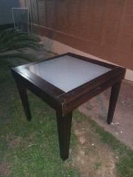 Mesa tampa de vidro