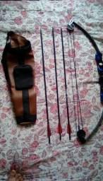 Arco e flecha Catfish Vixion Composto + Acessórios