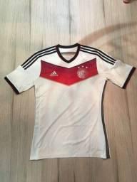 Camisa adidas performance Alemanha branca P