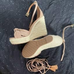 Sandália  corda santa lolla