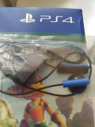 Fone PS4 original e sem uso