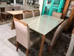 Título do anúncio: Sala de jantar grego 6 lugares completa
