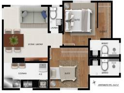 Título do anúncio: apartamentos 2 quartos com suíte no Santa Efigênia