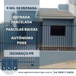 9 mil de entrada - Iguaraçu - PR