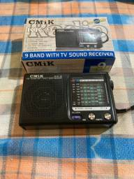 Rádio a pilha
