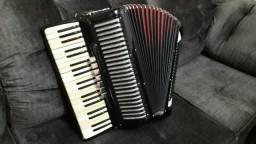 Vendo acordeon 120 baixos todeschini super 6