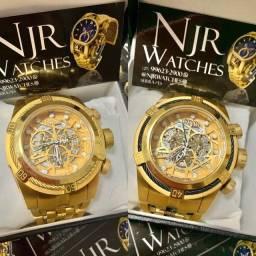 Relógio Invicta zeus bolt skeleton lacrado com garantia