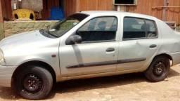 Clio 1.0 vendo ou troco 8 mil - 2002