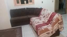 Vendo sofa de canto marron R$$ 350, 00