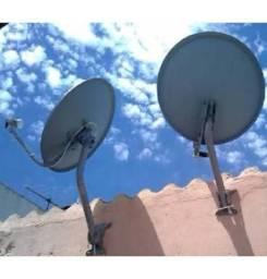 Faço instalação de antenas 48 99661 6735