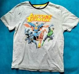 Camiseta Liga da Justiça tam. M
