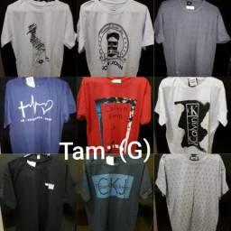 Camisas G e P 3 por 100,00