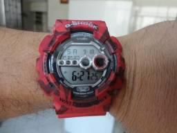 Relógio Casio G-Shock Camuflado.
