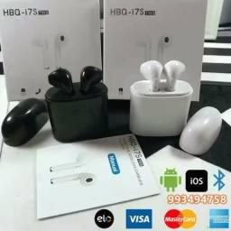 Fone de ouvido i7S Wireless Bluetooth No atacado e varejo, leia os valores (entrego)
